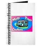 White Trash Couture BluePink Journal