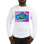 White Trash Couture BluePink Long Sleeve T-Shirt