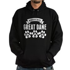Worlds Best Great Dane Dad Hoodie