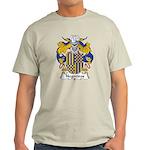 Negreiros Family Crest Light T-Shirt