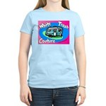White Trash Couture BluePink Women's Pink T-Shirt
