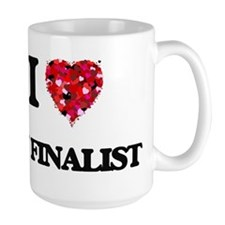 I Love My Finalist Mugs