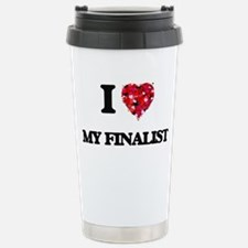 I Love My Finalist Stainless Steel Travel Mug