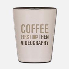 Coffee Then Videography Shot Glass