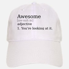 Awesome by Definition Baseball Baseball Cap