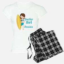 Surfer Girl Brunette Pajamas