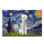 Starry / Bedlington Postcards (Package of 8)