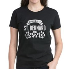 Worlds Best St. Bernard Mom T-Shirt