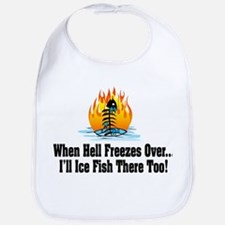 Hell Freezes Ice Fishing Bib