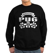 Worlds Best Pug Mom Sweatshirt