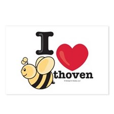 I Love BEEthoven Postcards (Package of 8)