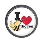 I Love BEEthoven Wall Clock