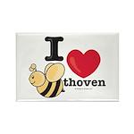 I Love BEEthoven Rectangle Magnet (10 pack)