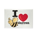 I Love BEEthoven Rectangle Magnet (100 pack)