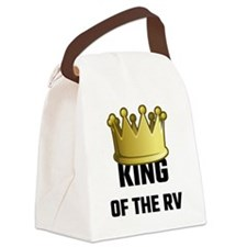 King Of The RV Canvas Lunch Bag