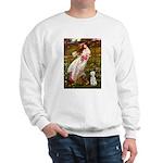Windflowers/Bedlington T Sweatshirt