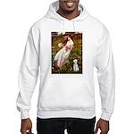 Windflowers/Bedlington T Hooded Sweatshirt