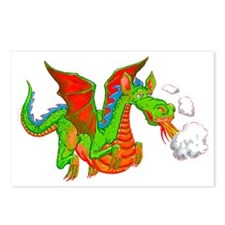 Help with Dinner Dragon Postcards (Package of 8)