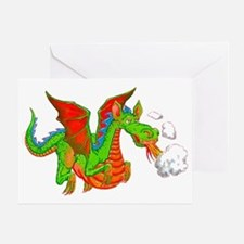 Help with Dinner Dragon Greeting Card