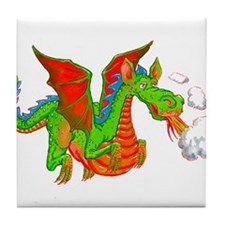 Help with Dinner Dragon Tile Coaster