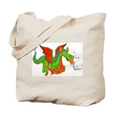 Help with Dinner Dragon Tote Bag