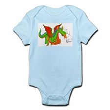 Help with Dinner Dragon Infant Bodysuit