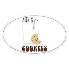 Milk & Cookies Decal