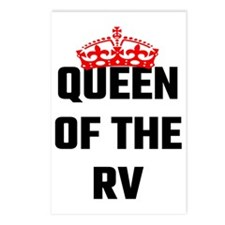Queen Of The RV Postcards (Package of 8)