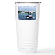 Captain Hooks Ship Travel Mug