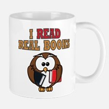 Real Books Owl Mug