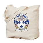 Napoles Family Crest Tote Bag