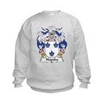 Napoles Family Crest Kids Sweatshirt