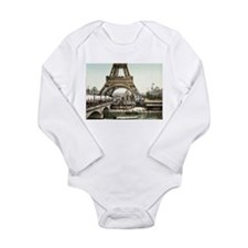 Base of The Eiffel Tower Body Suit