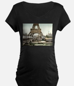 Base of The Eiffel Tower Maternity T-Shirt