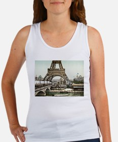 Base of The Eiffel Tower Tank Top