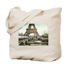 Base of The Eiffel Tower Tote Bag