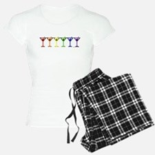 Rainbow Martinis Pajamas