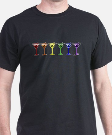 Rainbow Martinis T-Shirt