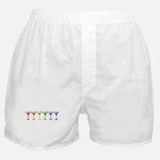 Rainbow Martinis Boxer Shorts