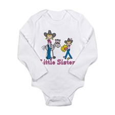 Unique Sibling Long Sleeve Infant Bodysuit