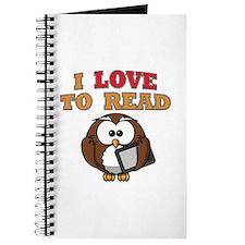 E-Reader Owl Journal