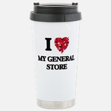 I Love My General Store Stainless Steel Travel Mug