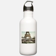 Base of The Eiffel Tow Water Bottle