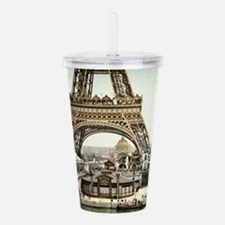 Base of The Eiffel Tow Acrylic Double-wall Tumbler