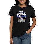 Mouzinho Family Crest  Women's Dark T-Shirt