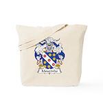 Mouzinho Family Crest  Tote Bag