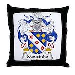 Mouzinho Family Crest  Throw Pillow