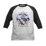 Mouzinho Family Crest  Kids Baseball Jersey