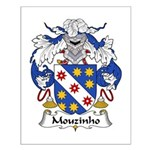 Mouzinho Family Crest  Small Poster