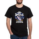 Mouzinho Family Crest  Dark T-Shirt